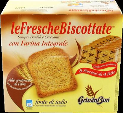 Immagine di FETTE BISC.INTEGRALI GRISSIN BON GR.250