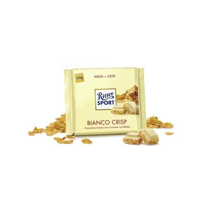 Picture of RITTER SPORT BIANCO CRISPGR.100