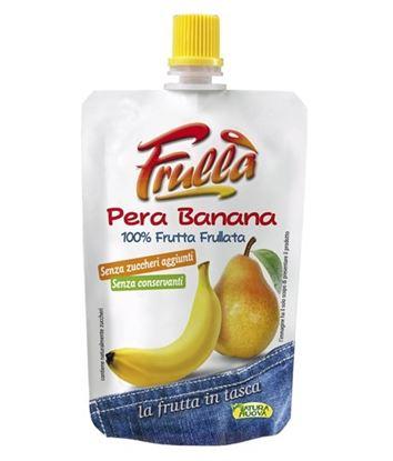 Picture of FRULLA` PERA E BANANA FRUTTA IN TASCA GR.100