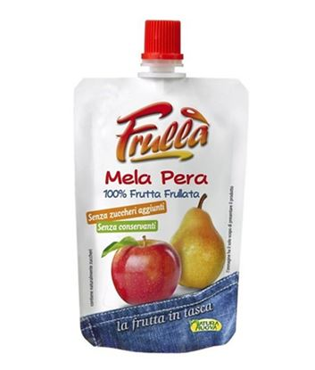 Picture of FRULLA` MELA E PERA FRUTTA IN TASCA GR.100