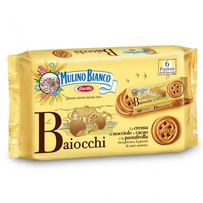 Picture of BAIOCCHI SNACK NOCCIOLA X6 M.BIANCO G336