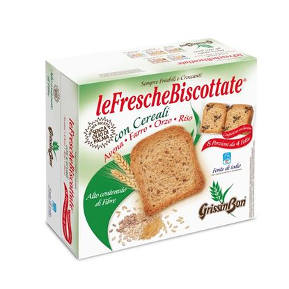 Picture of FETTE BISCOTTATE CON CEREALI GRISSINBON GR.250