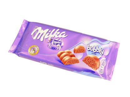 Picture of TAVOLETTA MILKA BUBBLY LATTE GR.90