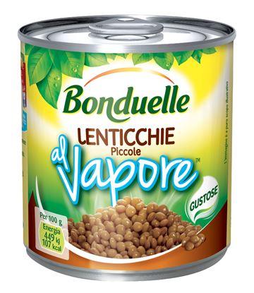 Immagine di LENTICCHIE A VAPORE BONDUELLE GR265