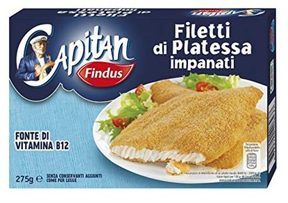 Immagine di FILETTI PLATESSA IMPANATIFINDUS 250 GR