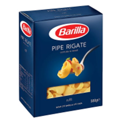 Picture of PIPE RIGATE N.91 BARILLAGR.500
