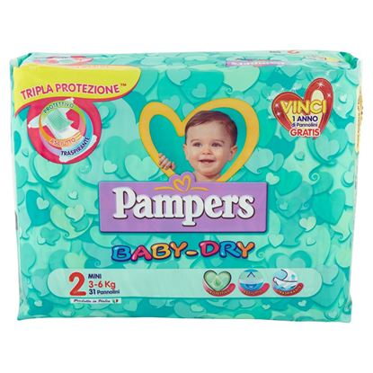 Immagine di PAMPERS BABY DRY MINI  X31