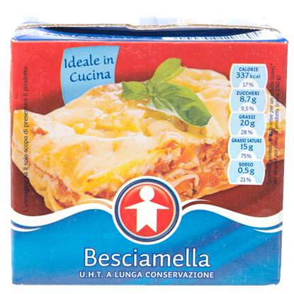 Picture of BESCIAMELLA UHT SIGMA BRIK 500 ML