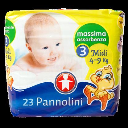 Immagine di PANNOLINO SIGMA MIDI 4/9KG X 23 PZ