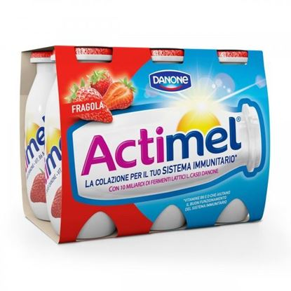 Picture of ACTIMEL DANONE FRAGOLA GR100X6