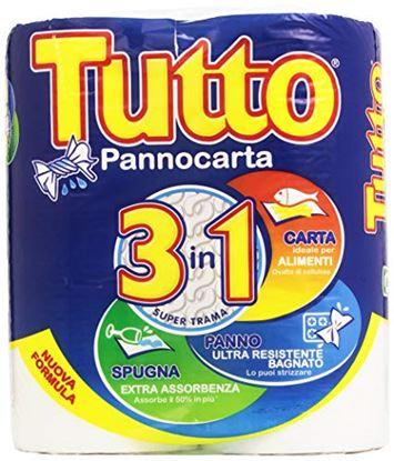 Immagine di ASCIUGATUTTO TUTTO PANNOCARTA 2 ROTOLI