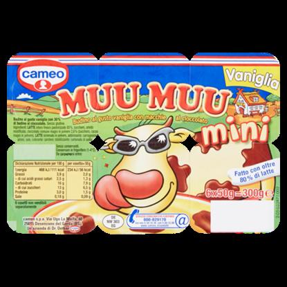 Picture of MUU MUU MINI CAMEO VANIGLIA 6X50 G
