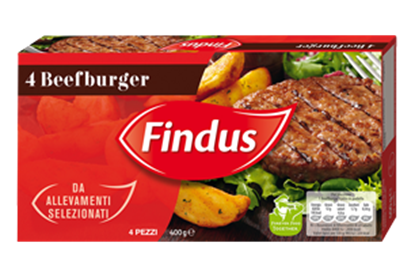 Picture of BEEFBURGER X 4GR 400 FINDUS