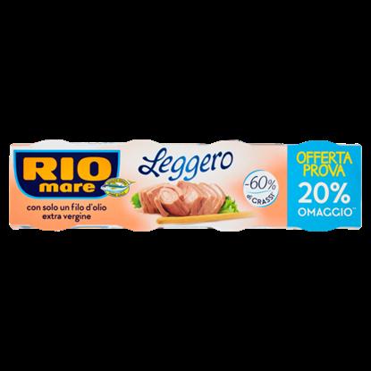 Immagine di TONNO RIO MARE LEGGERO GR60 X 4