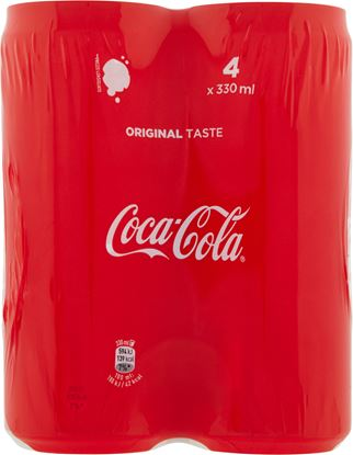 Immagine di COCA COLA ZERO LATTINA SLEEK CL33 X4