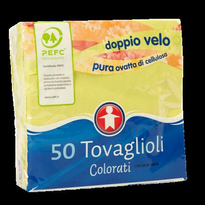 Picture of TOVAGLIOLI COLORATI 2 VELI 50 PZ. SIGMA