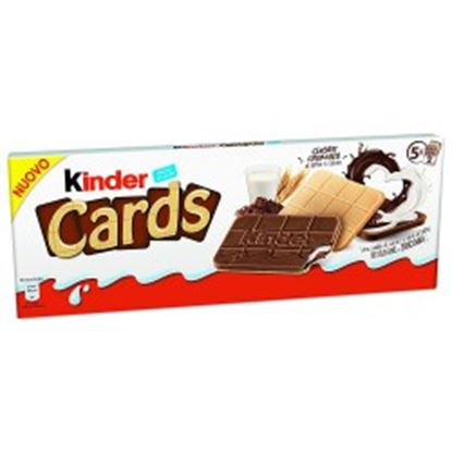 Picture of KINDER CARDS LATTE E CACAO T.5X2 GR.128