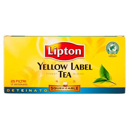 Immagine di TEA DETEINATO YELLOW LABEL LIPTON 25 FLT