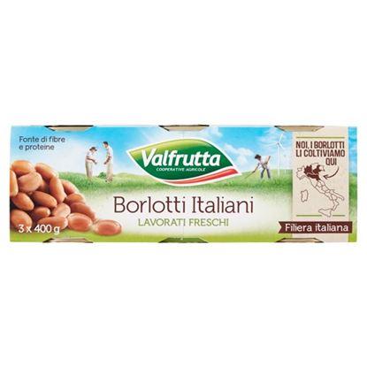 Picture of FAGIOLI BORLOTTI VALFRUTTA GR.400X3