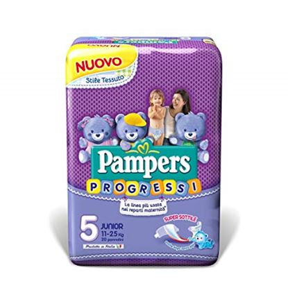 Immagine di PAMPERS PROGRESSI PREMIUMS JUNIOR  X 20