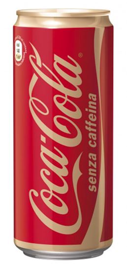 Immagine di COCA COLA S/CAFFEINA LATT.SLEEK CL33X 4