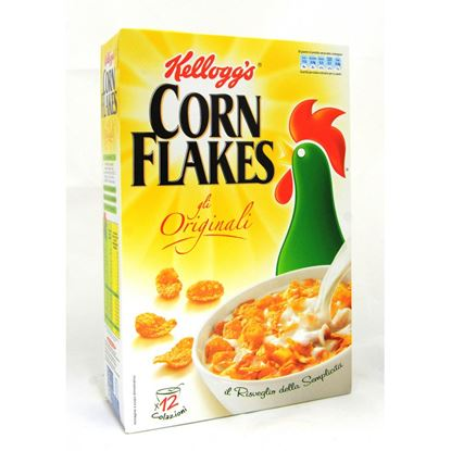 Picture of CEREALI CORN FLAKES KELLOGG GR.375
