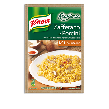 Picture of RISOTTO ZAFFERANO/PORCINIKNORR BS GR175