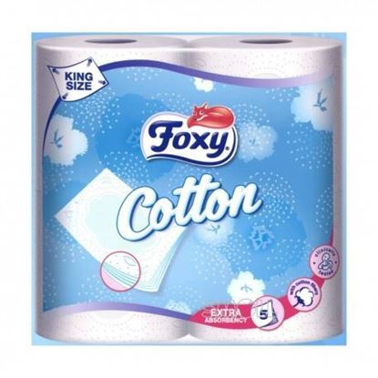 Picture of CARTA IG. FOXY COTTON 4 ROTOLI 5 VELI