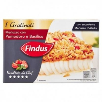 Picture of FILETTI MERLUZZ.GRATINATIGR 380 FINDUS