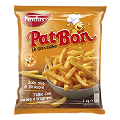 Picture of PATATE FRITTE PAT BON GR.450 FINDUS
