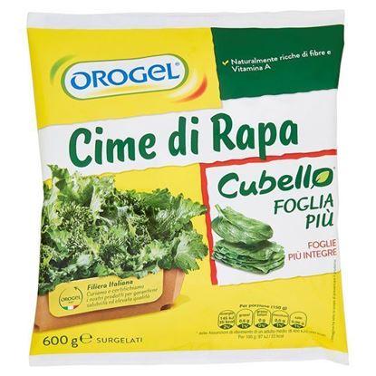 Picture of CIMA DI RAPA FOGLIA PIU`600 G OROGEL