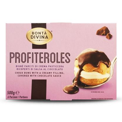 Immagine di PROFITEROLES BONTA`DIVINA SELECTION GR 100