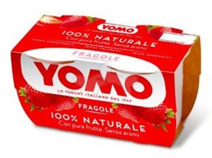 Picture of YOMO YOGURT FRAGOLA GR.125X2