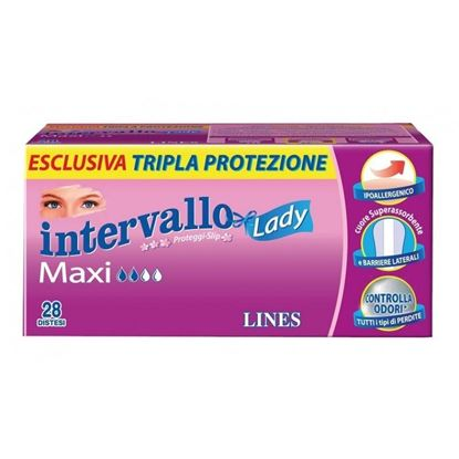 Picture of LINES INTERVALLO LADY MAXI X 28
