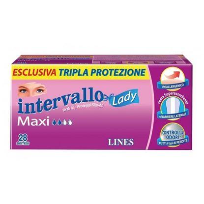 Immagine di LINES INTERVALLO LADY MAXI X 28