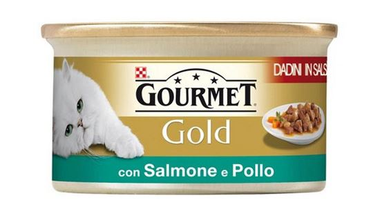 Picture of DADINI GOURMET GOLD SALM/POLLO GR.85
