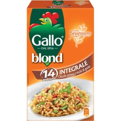 Immagine di RISO GALLO BLOND INTEGRALE KG.1