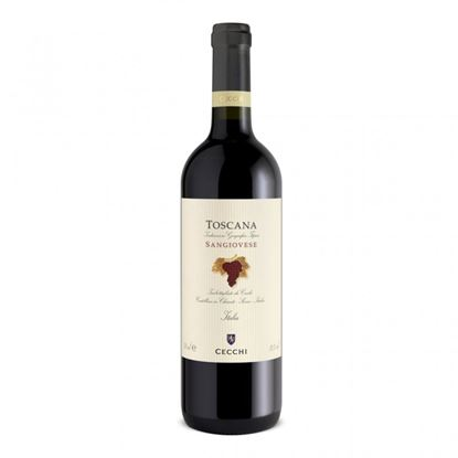 Picture of SANGIOVESE TOSCANA IGT CECCHI ML 750