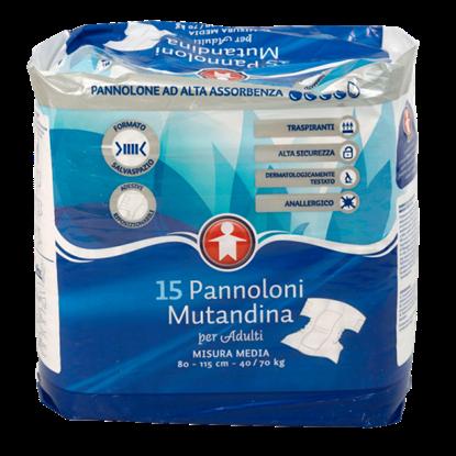 Picture of PANNOLONE MUTAND COMPACTMEDI. X15 SIGMA