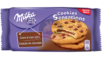 Picture of MILKA COOKIES SENSATION CUORE AL CIOCCOLATO GR.156