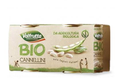 Picture of FAGIOLI CANNELLINI BIO VALFRUTTA GR.400X2