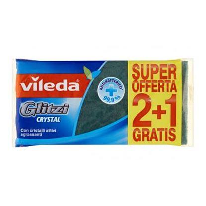 Picture of SPUGNA VILEDA GLITZIFIBRA VERDE X2+1