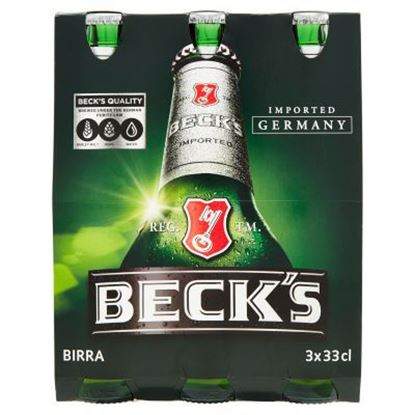 Picture of BIRRA BECKS CL.33X3