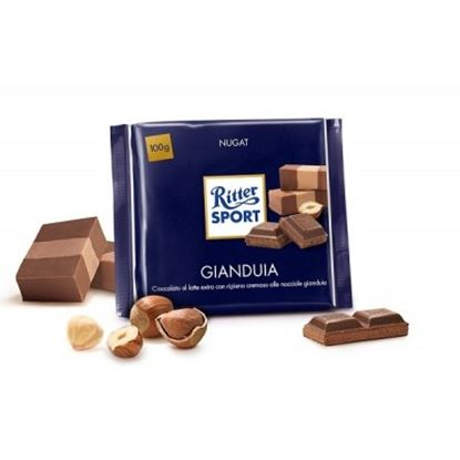 Picture of RITTER SPORT GIANDUIA GR.100