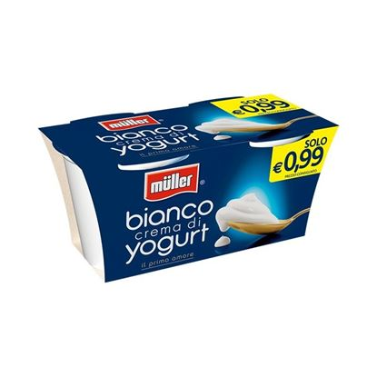 Picture of YOGURT MULLER BIANCO GR125X2