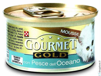 Immagine di BOCC.GOURMET GOLD PESCE BIANCO OCEANO GR.85