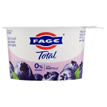 Picture of YOGURT TOTAL FAGE 0% MIRTILLI G.170