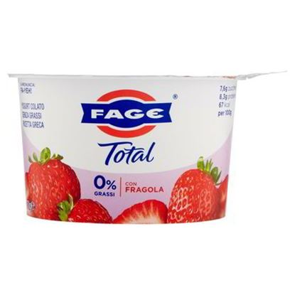 Picture of YOGURT TOTAL FAGE 0% FRAGOLA G.170