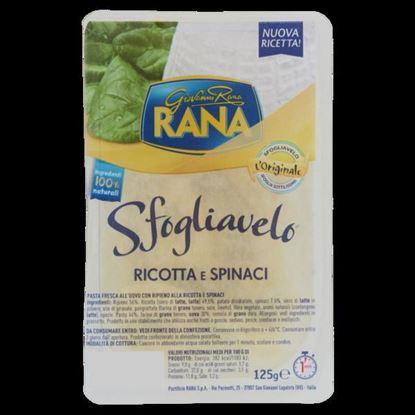 Picture of SFOGLIAVELO RIC/SPINACI RANA GR 125