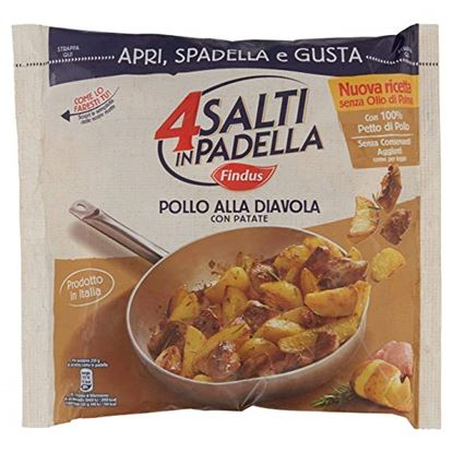 Picture of POLLO DIAVOLA C/PATATE 4SALTI PADEL.500G